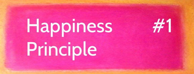 Happiness Principle 1 … The Great Deciding